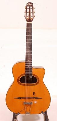 Lot 502 - A Kiso Suzuki acoustic guitar, model 9614,...