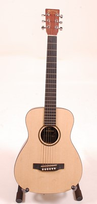 Lot 501 - An C.F. Martin & Co LXM Little Martin acoustic...