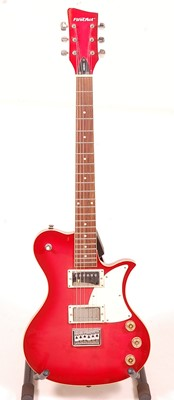 Lot 510 - A First Act ME501 electric guitar, in red...