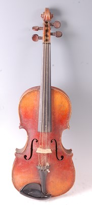 Lot 508 - An early 20th century Continental violin, the...