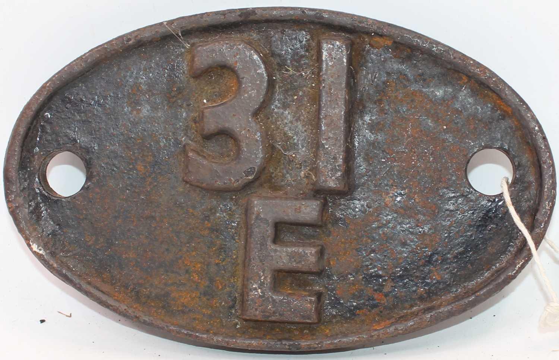 Lot 2 - Original cast iron 31E Bury St Edmunds Shed...