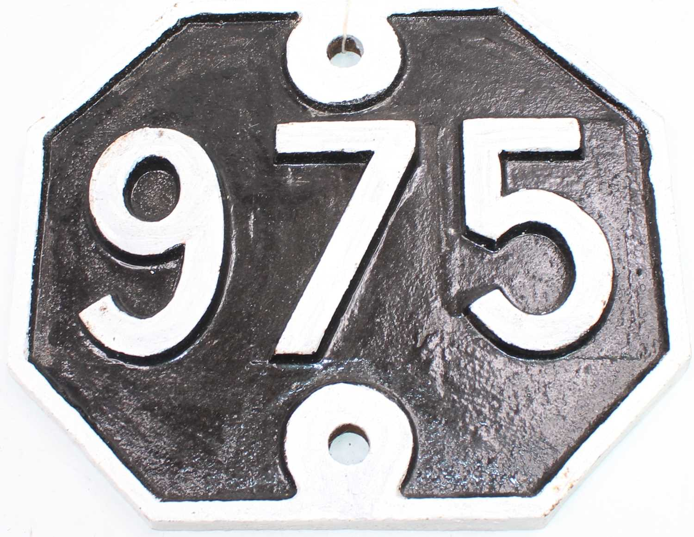 Lot 4 - Original Great Eastern Railway Bridge Plate...