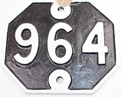 Lot 8 - An original Great Eastern Railway bridge plate...