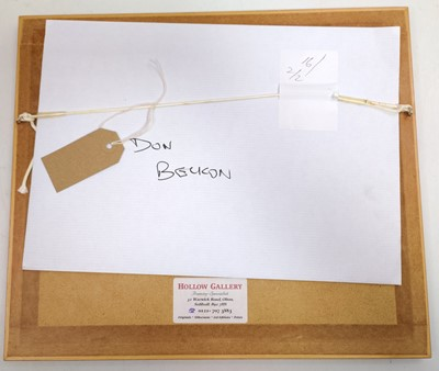 "Lot 10 - Don Breckon (1935-2013) ""Aftermath"" original..."
