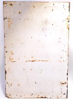 "Lot 11 - Original BRS Parcels Ltd enamel sign, 27"" x 18""..."