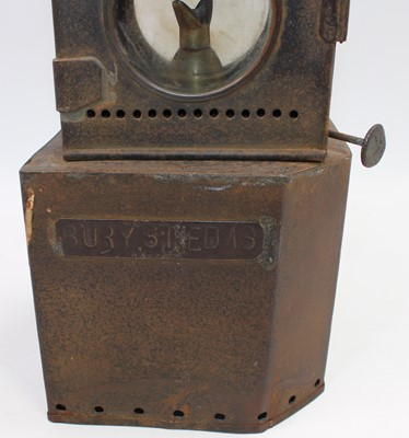 Lot 16 - A Great Eastern Railway GER Signal Lamp,...