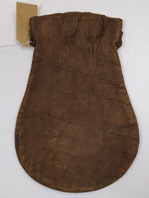 Lot 27 - An original LNER Cash Bag, the brass plaque to...