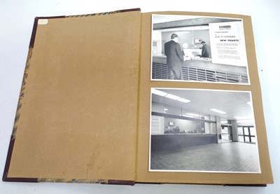 Lot 29 - Scrapbook containing a large collection of...