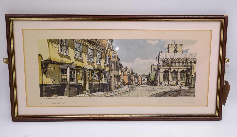 Lot 31 - An original framed railway carriage print of...