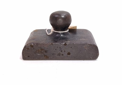 Lot 38 - A GER metal paperweight