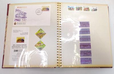 Lot 43 - 1 album containing a quantity of Sri-Lankan...