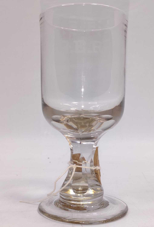 Lot 46 - A Great Eastern Railway Rummer, 200ml Glass,...
