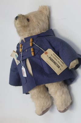 Lot 21 - A blond mohair soft toy in the form of...
