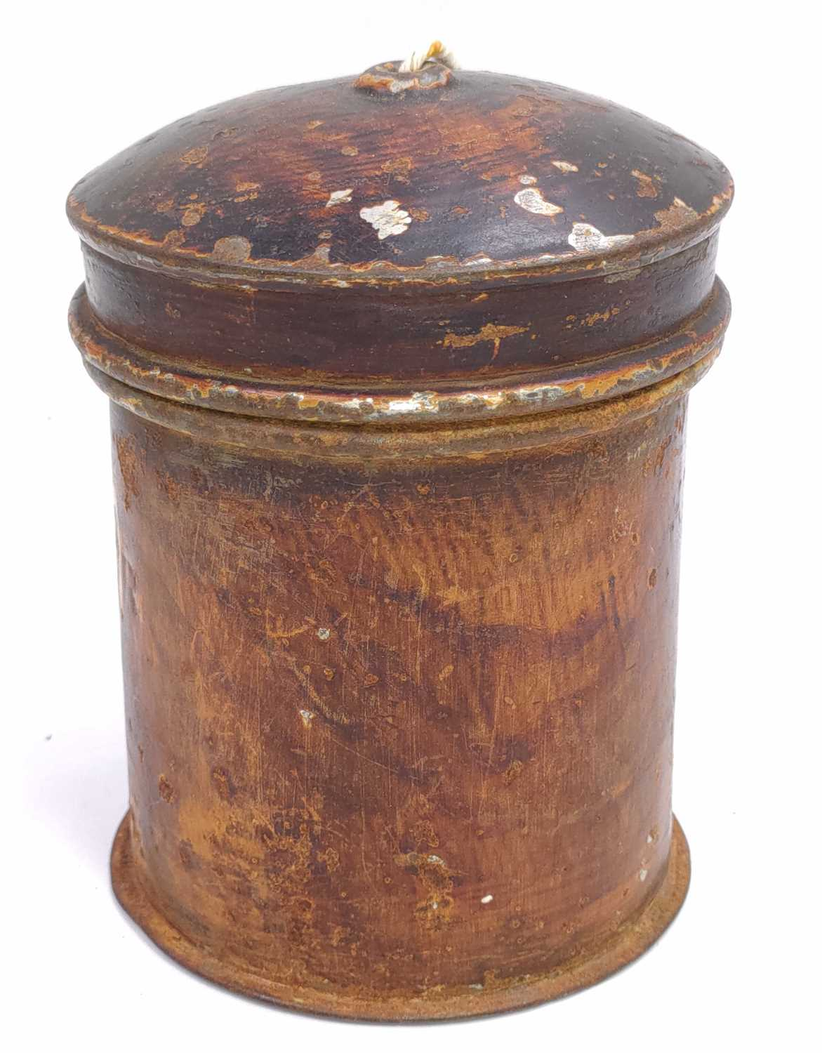 Lot 57 - A GER Stamped string box/dispenser, from Bury...