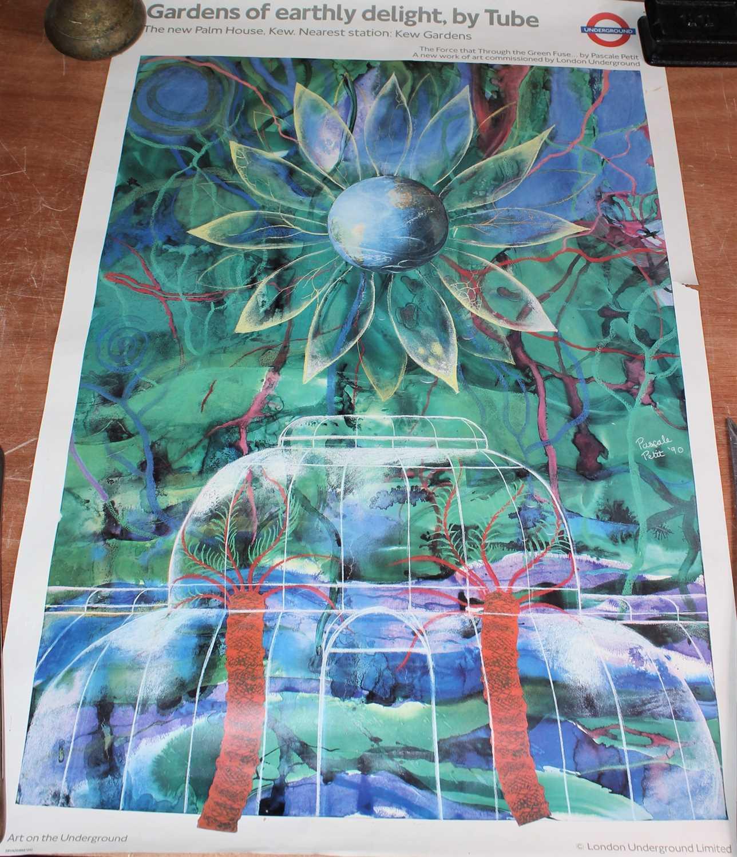 Lot 68 - Original London Underground Poster depicting...