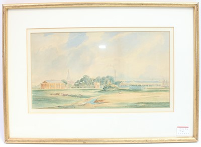 Lot 72 - A pair of framed and glazed watercolours...