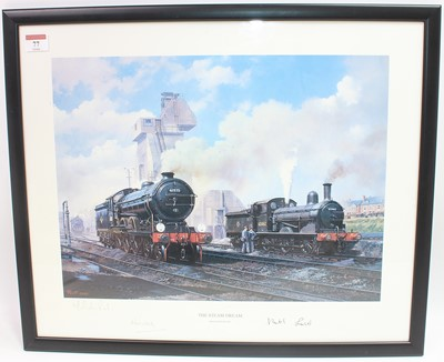 Lot 77 - Framed and Glazed Malcolm Root print, titled...