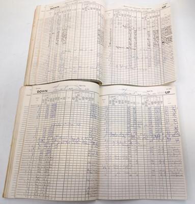 Lot 78 - Ex Bury St Edmunds Junction Signal Box Two...