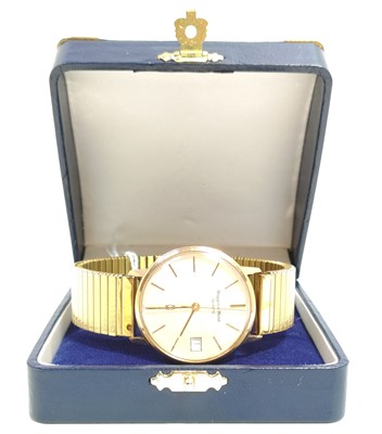 Lot 79 - Mappin and Webb Gold plated wristwatch...