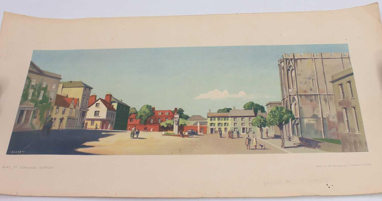 Lot 84 - An original Donald F Blake carriage print,...