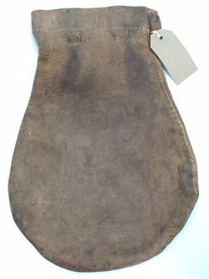 Lot 86 - A well worn BR cash bag, handwritten Newmarket...