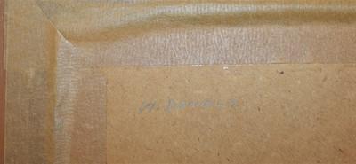Lot 93 - Oil on board by W.Daniels, depicting an...