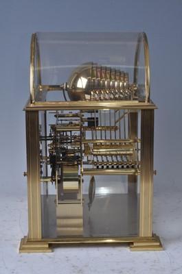 Lot 166 - A contemporary gilt brass Kieninger triple...