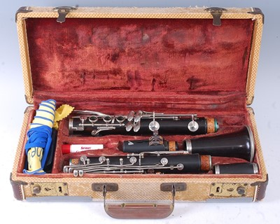 Lot 514 - A Boosey & Hawkes clarinet, The Edgware model,...