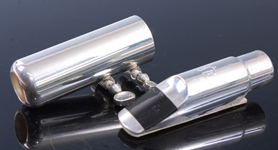 Lot 518 - A Yanagisawa Soprano stainless steel saxophone...