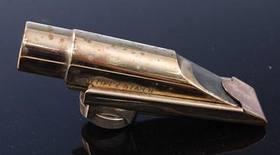 Lot 521 - A Lawton Alto saxophone mouthpiece No. 7 star...