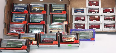 Lot 952 - 2 trays of EFE boxed models, manly buses. 28...