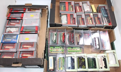 Lot 955 - 3 trays containing mainly boxed Corgi OOC as...