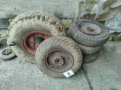 Lot 2 - Qty of Trailer Wheels