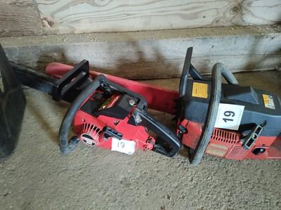 Lot 19 - Jonserod 670 Champ and Jonserod 365 Chainsaws