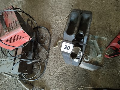 Lot 20 - Jerry Can and Vintage Petrol Can