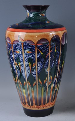 Lot 11 - A large Moorcroft pottery vase, in the...
