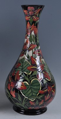 Lot 12 - A large Moorcroft pottery vase, in the Palmata...