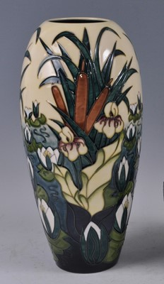 Lot 15 - A large Moorcroft pottery vase, in the Lamia...