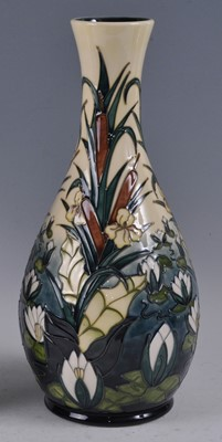 Lot 16 - A large Moorcroft pottery vase, in the Lamia...