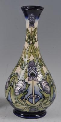 Lot 19 - A Moorcroft pottery vase, in the Wolfsbane...
