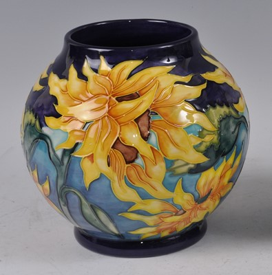 Lot 22 - A Moorcroft pottery vase, in the Topeka...