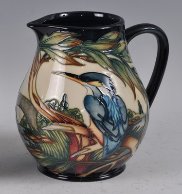 Lot 23 - A Moorcroft pottery single handled jug, in the...