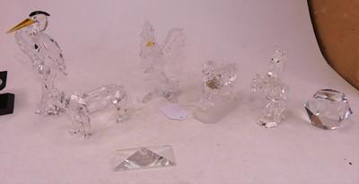 Lot 7 - A Swarovski Crystal model 'The Lion', 1995,...