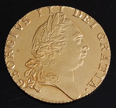Lot Great Britain, 1789 gold spade guinea, George...