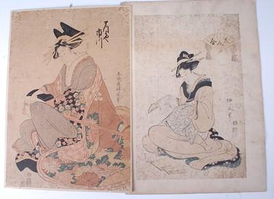 Lot Hishikawa Ryukoku (Shungyōsai) (early C19th) –...