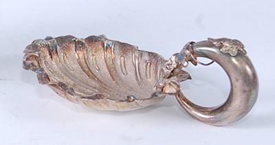 Lot * A mid-Victorian silver miniature wine taster,...