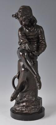 Lot Giulio Monteverde (1837-1917) - a large bronze...