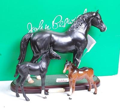 Lot 13 - A John Beswick of Royal Doulton model of a...