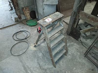 Lot 8 - Wooden Step Ladder