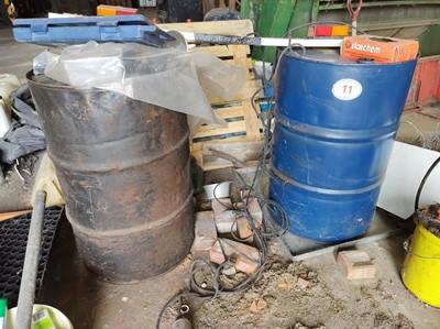 Lot 11 - 2 x Oil Drums